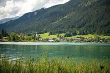 White Lake In Carynthia, Austria