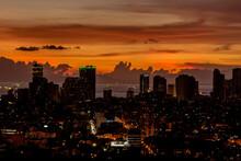 Skyline Of Manila And Manila B...