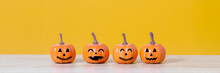 Banner Of Halloween Holiday Co...