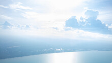Photo Corner Of The Gulf Of Thailand From The Plane