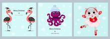 Cute Animals Greeting Set Card...