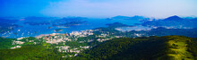 Panoramic Shot Of Ma On Shan Country Park In Hong Kong