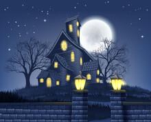 A Haunted House Halloween Back...