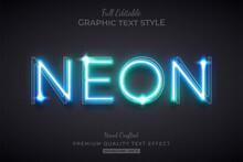Glow Neon Editable Text Style ...
