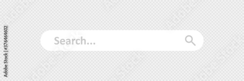 Search, web bar simple isolated icon Fotobehang