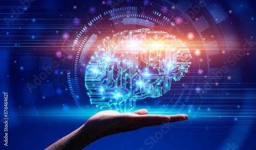 Modern Technologies And AI Canvas Print