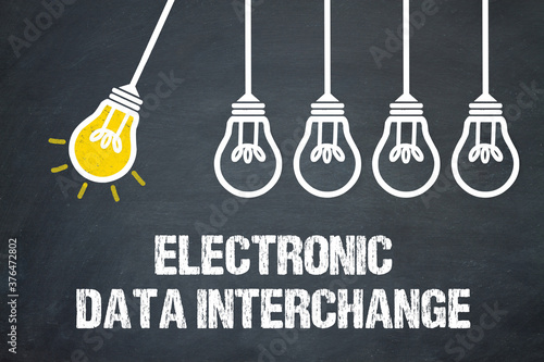 Leinwand Poster Electronic Data Interchange