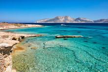 Koufonisi Island, Keros Island In The Background, Koufonisi, Cyclades Islands, Greek Islands