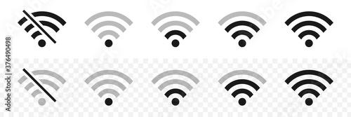 Photo Wi-fi wireless icons