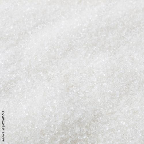 Fototapeta White granulated sugar background