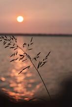 Sunrise On Lake Hefner