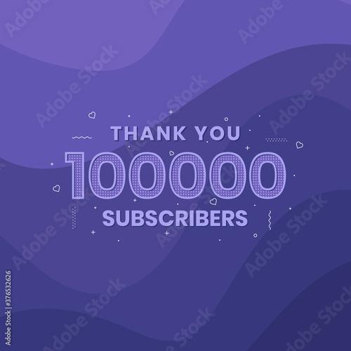Thank you 100000 subscribers 10k subscribers celebration. Tapéta, Fotótapéta