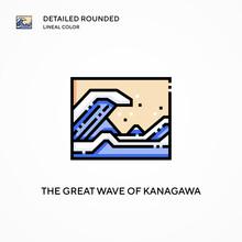 The Great Wave Of Kanagawa Vec...
