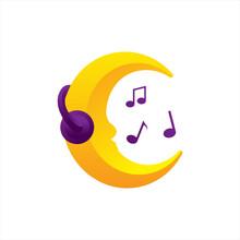 Headphones Crescent And Musica...