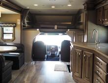 Class C Motor Home RV Interior