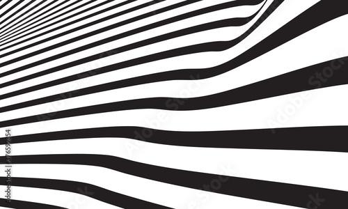Slika na platnu Abstract wave vector background
