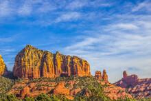 Red Rock Cliffs In Arizona Hig...