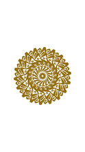 Sunflower Mandala, This Design Is Perfect For Decorations, Symbols And More
