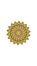 Sunflower Mandala, This Design...