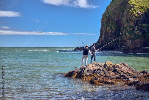 Fotografie, Obraz fishing in the sea