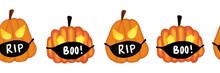 Corona Halloween Pumpkin Seaml...
