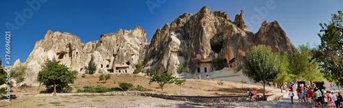 Cappadocia. Entrance inside the mountain!