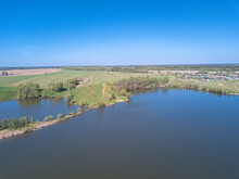 Aerial Perspective View Blue L...