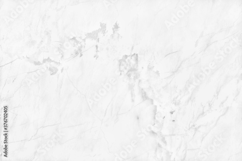 Obraz White grey marble texture background in natural pattern with high resolution, tiles luxury stone floor seamless glitter for interior and exterior. - fototapety do salonu