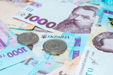 New Banknotes And Coins Ukrain...