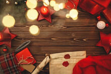 Writing A Letter To Santa Composiiton In Vintage Style