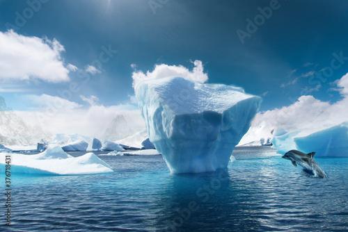 iceberg in antarctica Fototapeta