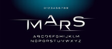 Modern Space Style Typeface, T...
