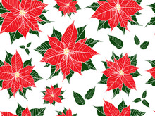 Merry Christmas Pattern With T...