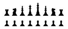 Chess Figures. Chess Pieces Si...