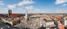 View Of Marienplatz From St Pe...