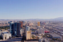 Las Vegas Cityscape As Seen Fr...