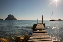 View Of Es Vedra From Old Pier...