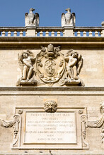 Pope Paul V Plaque Detail, Opp...