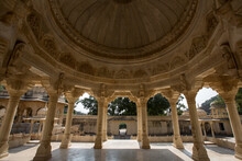 Pillars And Domed Ceiling At R...
