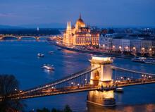 View Over River Danube, Chain ...