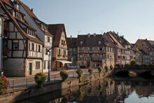 Medieval Houses Along Canal, C...