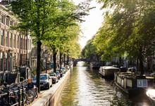 Canal, Jordaan District, Amste...