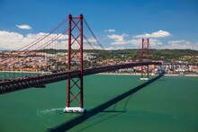25th April Bridge Across River...
