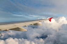 Airplane Wing In Flight, Istan...