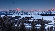 Scenic View Of Snowy Mountains...