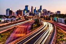 View Of Minneapolis Skyline Du...