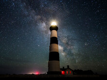 Bodie Island Lighthouse Agains...