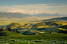 View Of Absaroka Range Against...