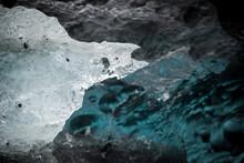 Close Up Of Glacier