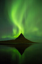 View Of Aurora Borealis Over K...